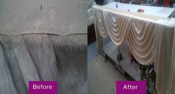 Curtain Cleaning Mullion