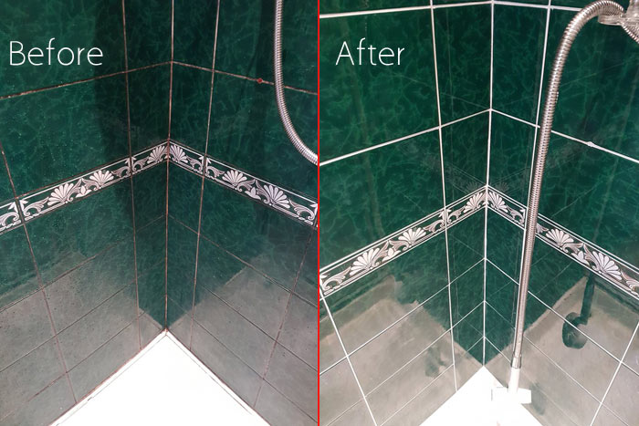 Expert Tile Grout Cleaning  Clear Range